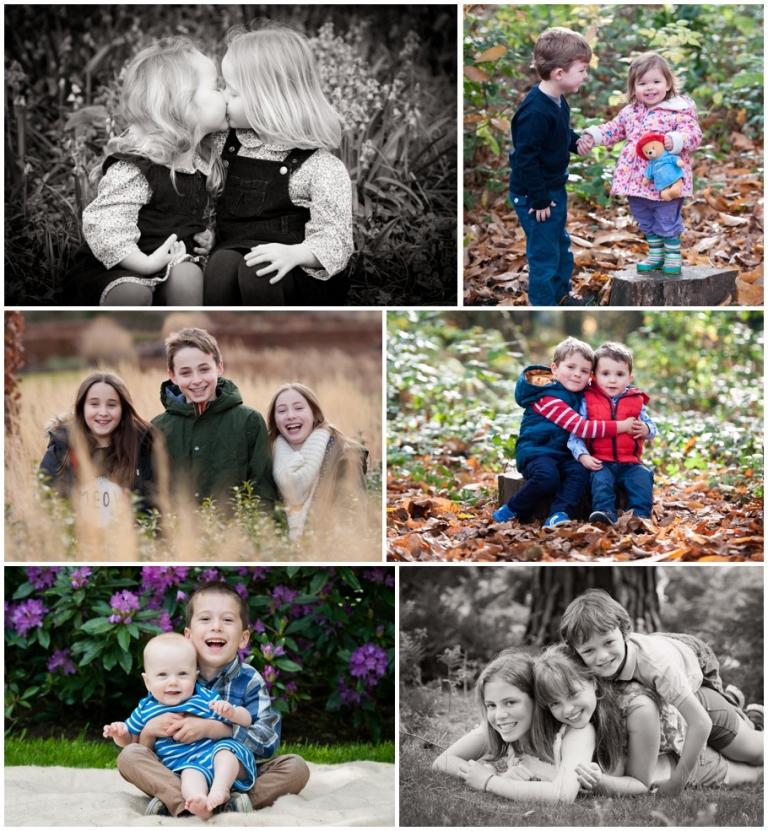 professional family portrait photographer siblings surrey berkshire sussex